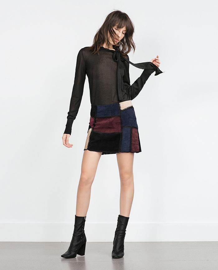 Minifalfa patchwork zara