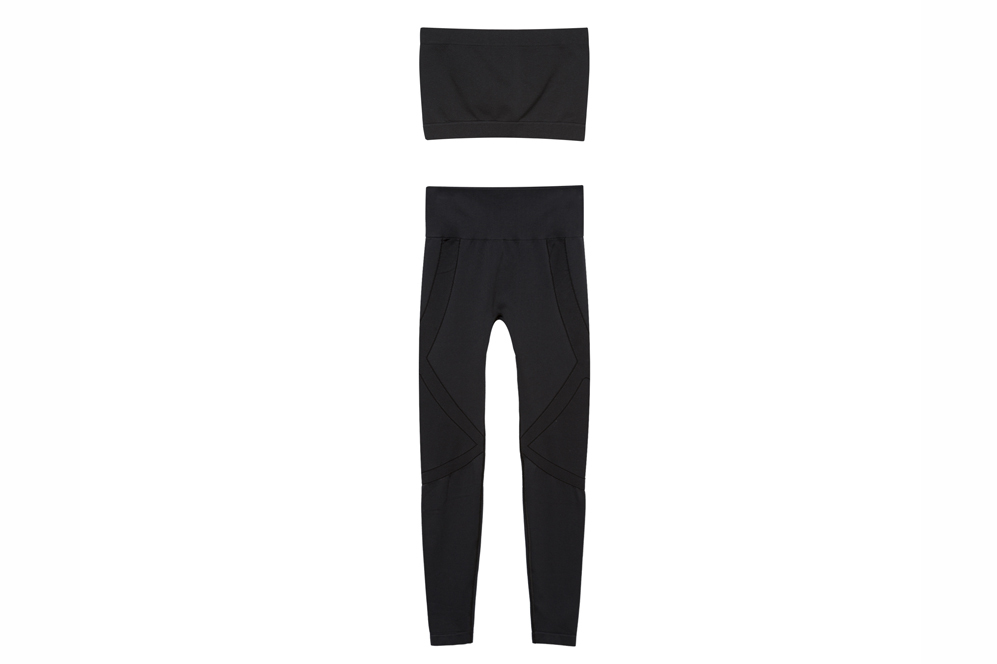 Top y pantalón deportivo de la Colección Gymwear