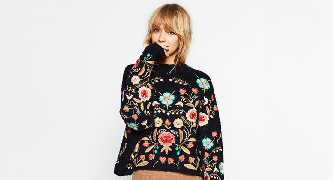 jersey de invierno de Zara