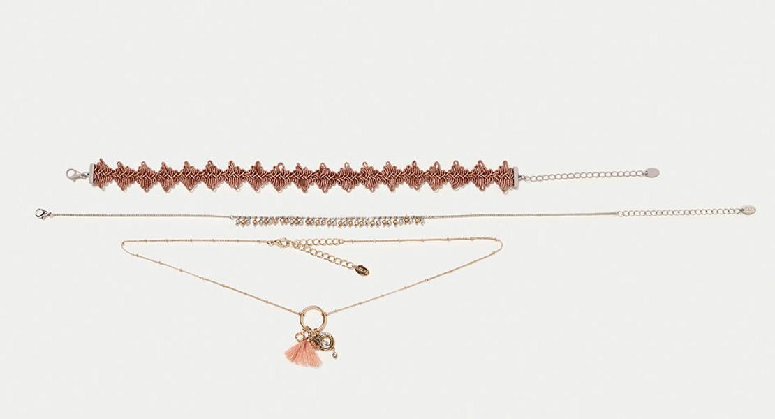 Zara accesorios de bisuteria