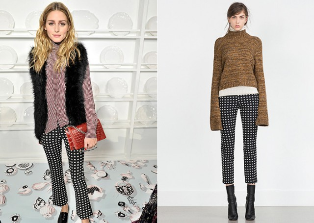 Olivia Palermo loves Zara