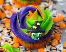 Los cupcakes de Halloween de Alma Obregón